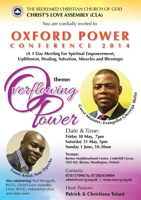 Oxford Power Conference